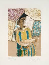 georges braque woman with mandolin