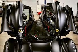 Video includes also some loud accelerations on the track!fo. Matte Black Ferrari Laferrari Looks Like The Batmobile