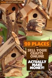 if you love arts and crafts why not get paid for it your