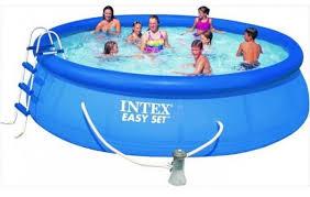 intex easy set pool. Intex Easy Set Pool 15 Ft X 42 In S