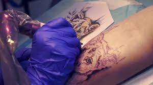 татуировка в стиле акварель от надежды николаевой