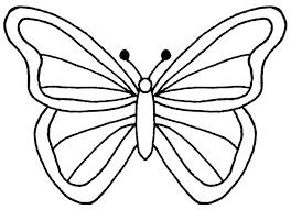 Free Printable Butterfly Template Mask Outline Templates Crafts