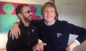 Paul McCartney and Ringo Starr come ...