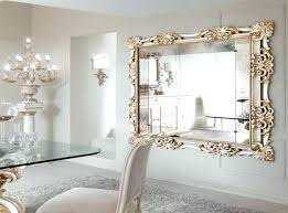 wall mirrors large luxury large decorative wall mirror for white dining room featuring elegant glass dining
