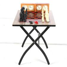 end tables fold down end table chess set tablet cover
