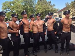 Police Car Wash Video Andrew Christian