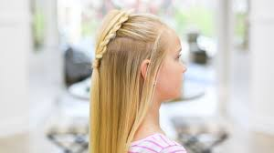 Fluffy Heart Braid Valentines Day Hairstyle Cute Girls Hairstyles