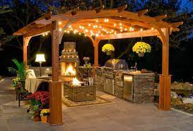 Outdoor Kitchen Ideas For Better Backyard Living With Natural Stone