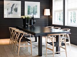Simple Scandanavian Dark Table Light Chairs Stuff To Buy