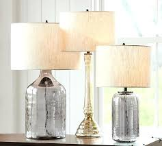 mercury glass table lamp base table lamp bases er glass candlestick table lamp base smoke pottery