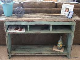 Sofa Table Diy Diy Sofa Table With Storage Pictures