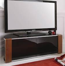sirius 1200 black and walnut corner tv cabinet alternative image