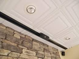 used track lighting. Photo 3 Of 4 Stratford Ceiling Tiles Being Used With Canned And Track Lighting (attractive Tile Grid Calculator