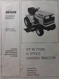 craftsman garden tractor kohler command