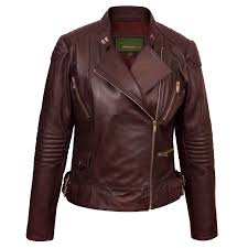 wendy women s burdy leather biker jacket