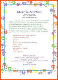 Babysitting Ads Free Daycare Flyer Templates Lovely School Child Care New Brochure