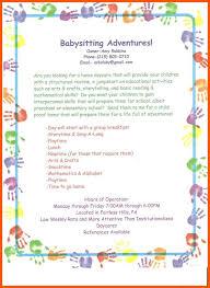 Child Care Ad Samples