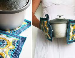 Upcycled Project Ideas for Old Jeans | DIY Denim Potholders | DIY Projects  & Crafts by