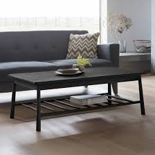 wycombe rectangular wooden coffee table