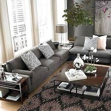 elegant dark gray couch living room ideas and best sofa on home design decor grey rug