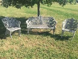 antique victorian cast iron garden