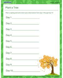 Home > science > plants. Plant A Tree Free Printable Plant Worksheet For Grade 4 Jumpstart