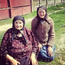 romanian people. my grandmother - inspiration and the lady in charge loom specialist romanian people