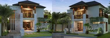 desain rumah minimalis modern 2 lantai jasa arsitek desain rumah