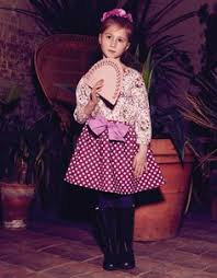 fairytale cord full circle polka dot skirt by their nibs london aw13 english herie collection