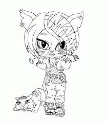 Small Picture Monster High Coloring Sheets Coloring Home