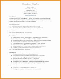 Free Printable Resume Templates Microsoft Word Awesome Download