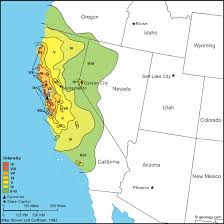 Mapped scale will control visualization of the fault at various scales. California Earthquake Map Collection