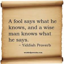 Proverbs Quotes Gorgeous World Of Proverbs Famous Quotes A Fool Says What He Knows And A