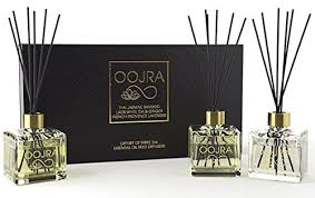 oojra 3 2oz essential oil reed diffusers aromatherapy gift set thai jasmine jo