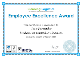 Thank You Employee Excellence Award March 2017