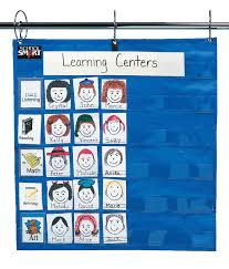 Learning Center Pocket Chart School Smart Student Group Pocket Chart 26 X 27 Inches Blue 35 Pockets