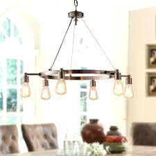 rustic dining room chandeliers 2 industrial light diy lamp