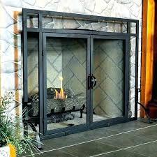fireplace screens glass gla fireplace screens beveled glass