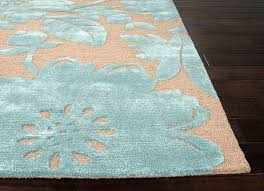 blue and tan area rugs rugs hand tufted durable wool art silk blue tan area rug