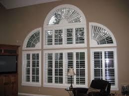 Arch Window Blinds  RoselawnlutheranSemi Circle Window Blinds