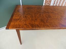 maple wood dining room table. tiger maple wood pennsylvania farm table 061616 02 img_3631 dining room