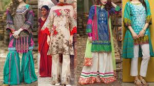 Latest Stitching Design Latest Designer Lawn Suit Designs With Stylish Stitching Lawn Dresses Designs