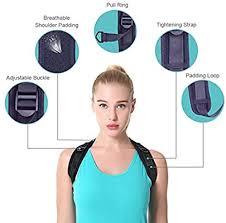 A-MUZI Back Posture Corrector, <b>Back Correction Belt</b>, <b>Breathable</b> ...