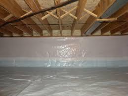 spray foam insulation and white cap crawl space encapsulation the attic crawl space door insulation