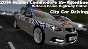 City Car Driving 1.5.4 - 2014 Holden Commodore SS-V Redline Police ...