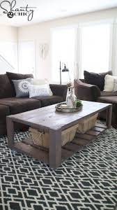 today i m sharing the diy crate coffee table on wheels that i built for her living room