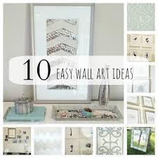Diy Art Diy Wall Art For Living Room