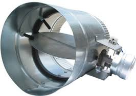 air conditioning damper. suncourt 307113c 12-inch diameter normally closed electronic hvac air duct damper with power supply conditioning