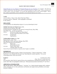 Work Experience Resume Format Best Inspirational Attorney Resume