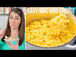 easy stovetop mac and cheese you
